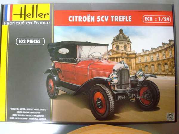 """Ouvre boite HELLER La 5 cv Citroën """"Trêfle"""" au 1/24 Dsc03062"""