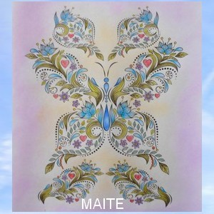 Coloriage anti-stress art-thérapie forum officiel coloriage zen adulte Maitzo53