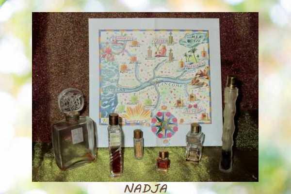 Miniatures de Parfum Nadja110