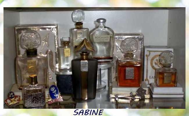 Miniatures de Parfum Sabine25