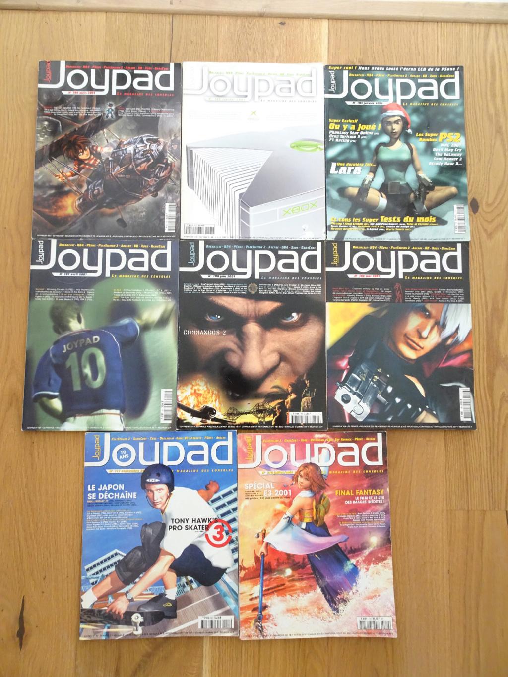 VDS MD SATURN, PS1, JAP, DS neuf, Mag Joypad, tv vintage, figurines JV Jypad-10