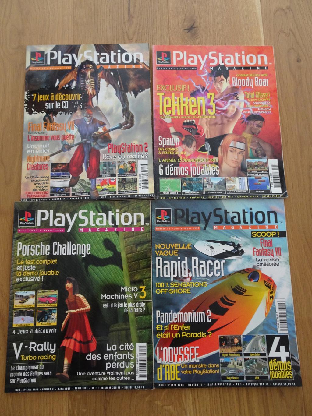 VDS MD SATURN, PS1, JAP, DS neuf, Mag Joypad, tv vintage, figurines JV Ps_mag10
