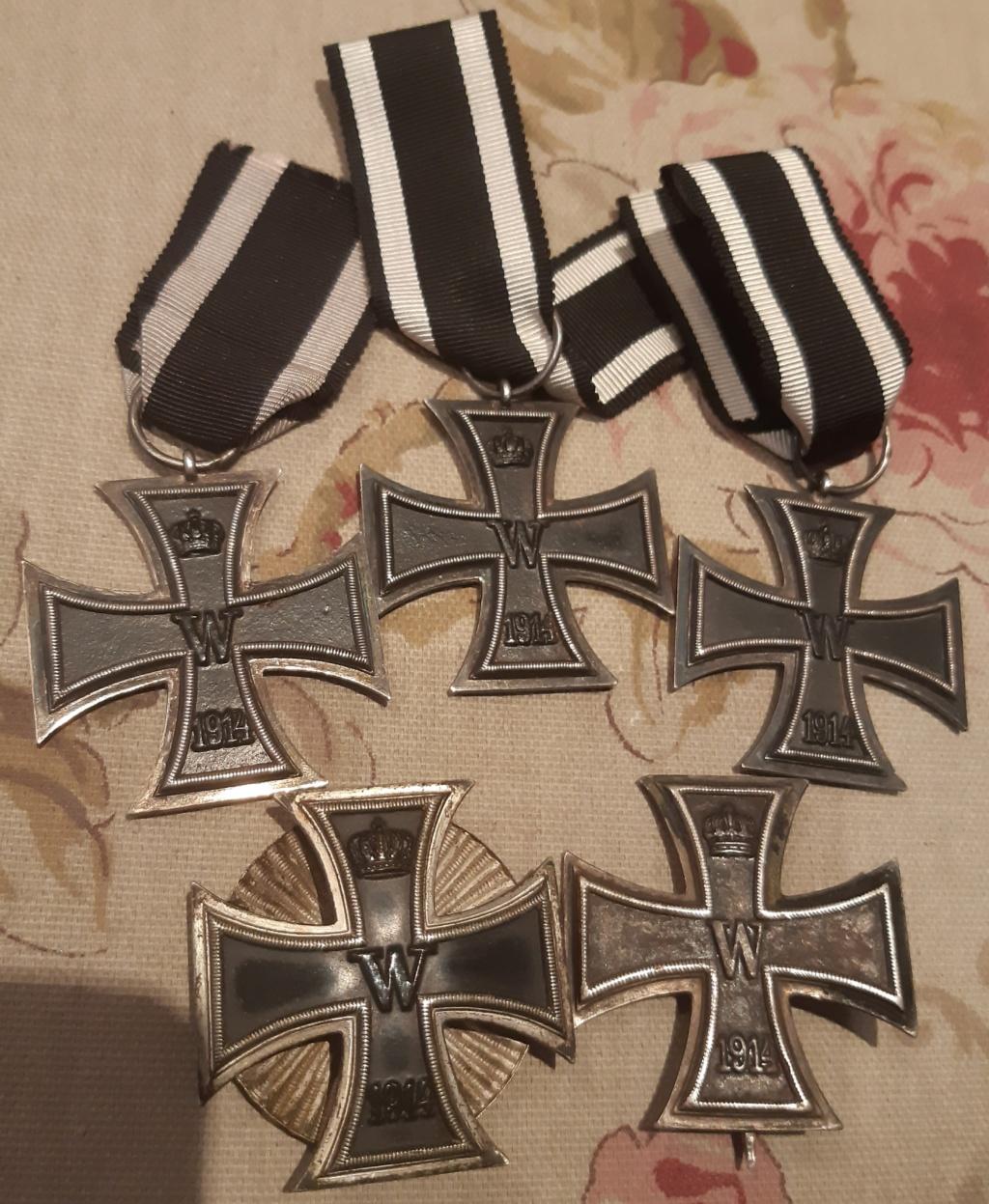 Croix de fer 1 gm;plaques de casque et boucles de ceinturon  20200112