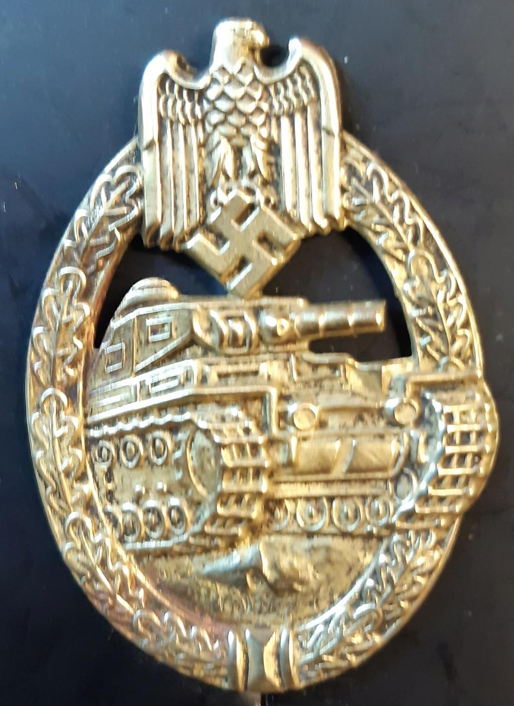 Badge panzer Rudolf Souval 20210844