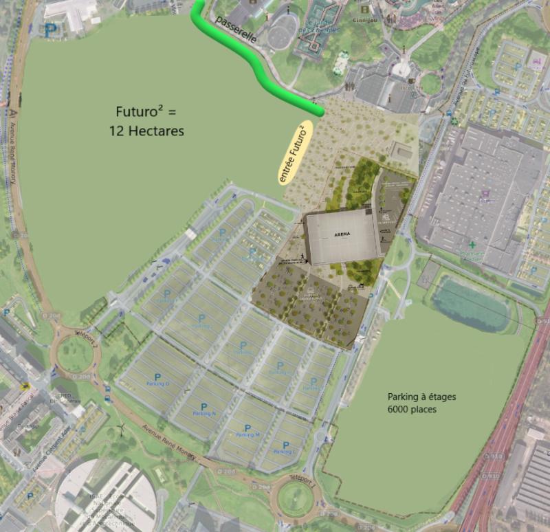 Futuroscope - Plans de développement et renouvellement des attractions - Page 11 Futuro10