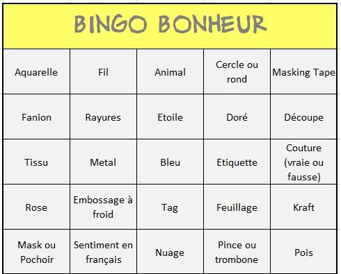 Semaine 2 - Bingo par Natyf Annota12