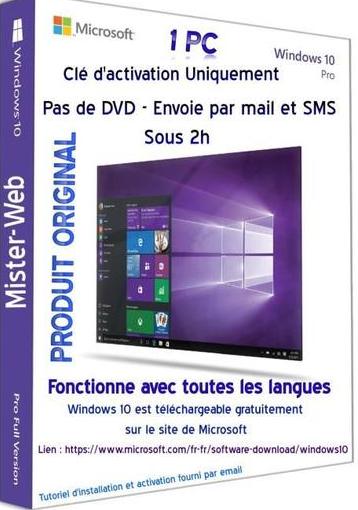Clé Windows 10 32 et 64 bits Clzo_w10