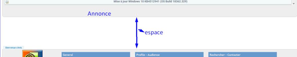 [Edge] Réduire l'espace Espace10