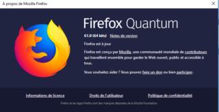 Nouvelle mise à jour de Firefox  Firefo10