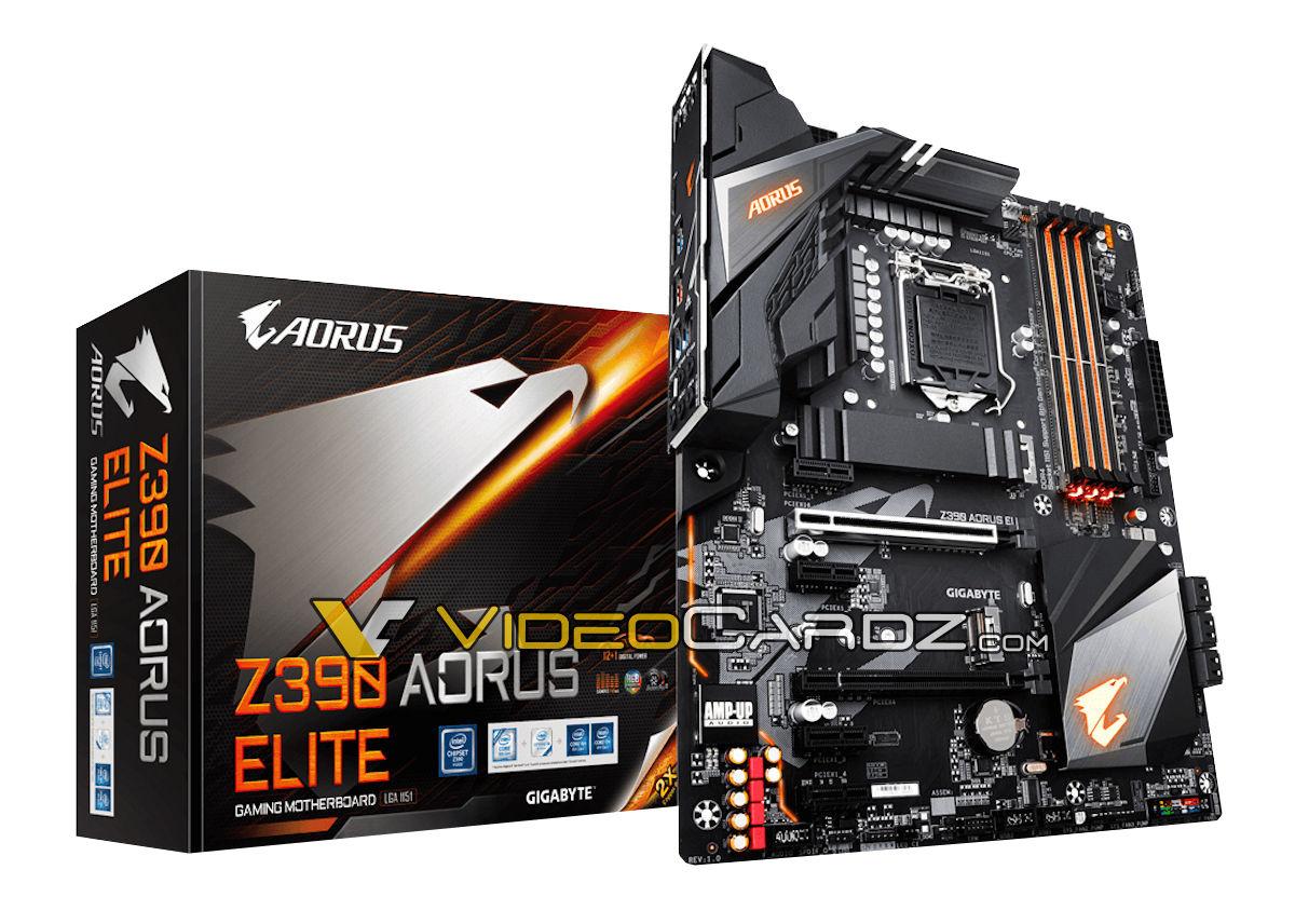 Gigabyte Z390 Aorus Elite pour processeur  Intel gen.9 Gigaby10