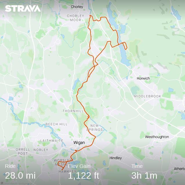 Phew, 32 mile bike ride Rivie_10