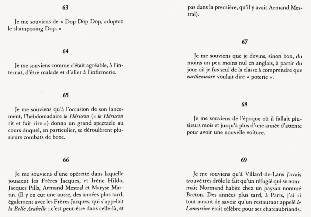 Georges Perec  A16