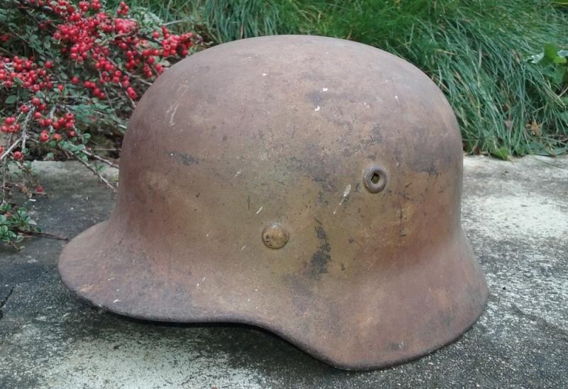 Les casques de la Luftwaffe - Page 2 Camo1110