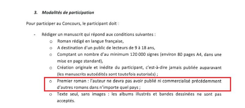 4ème édition du concours premier roman jeunesse chez Gallimard  Modali10