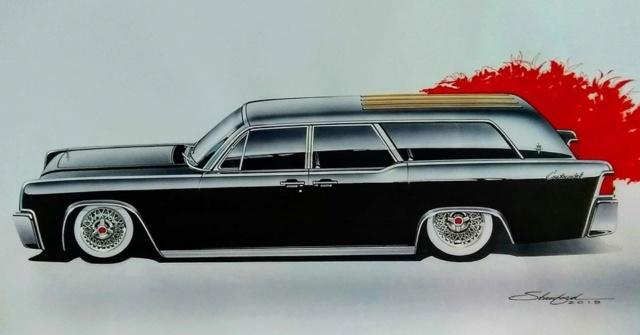 Lincoln 64 Continental Estate Wagon 00112