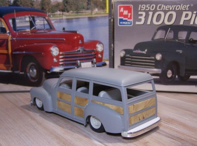 Chevrolet 50 woody 09210