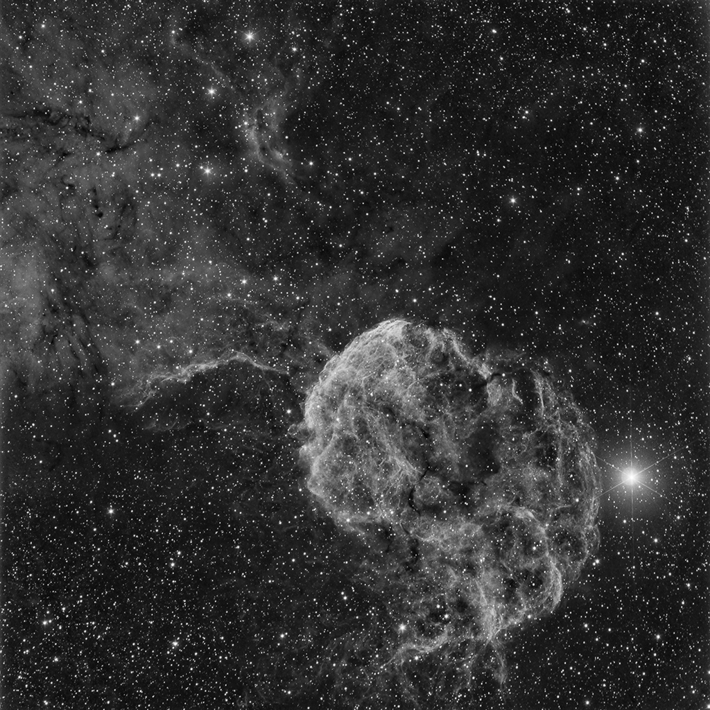 IC443 en Ha et SH2-86 en Ha et SHO Ic-44310