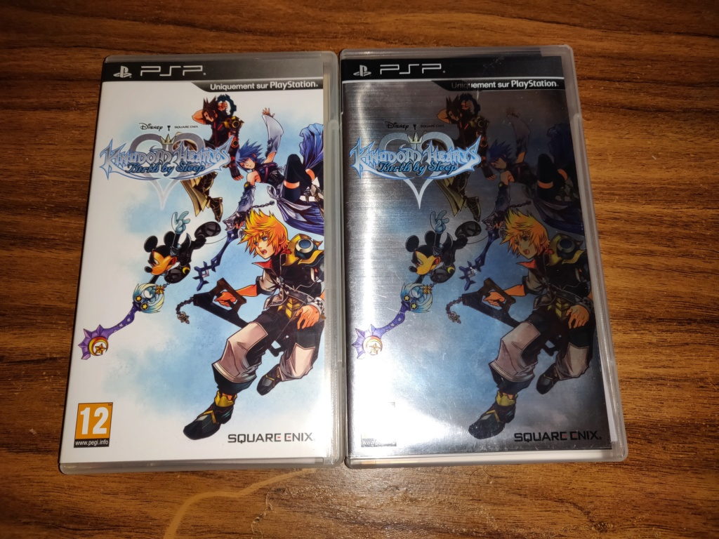 Différences jaquette Kingdom Hearts Birth By Sleep PSP Img_2015