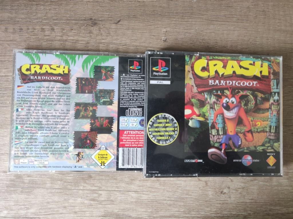 Crash bandicoot PS1 : Quelle version ? Img_2087