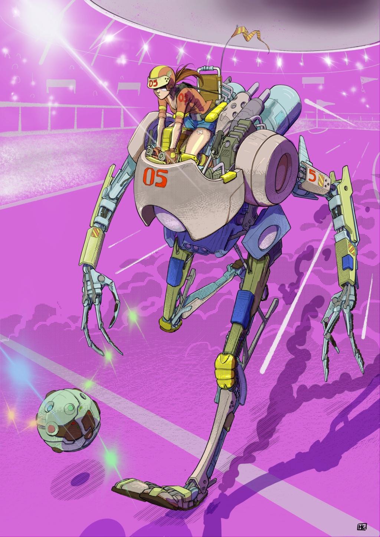 Terminé - [COLO] - Footbot par [MC] - Page 2 Illust13