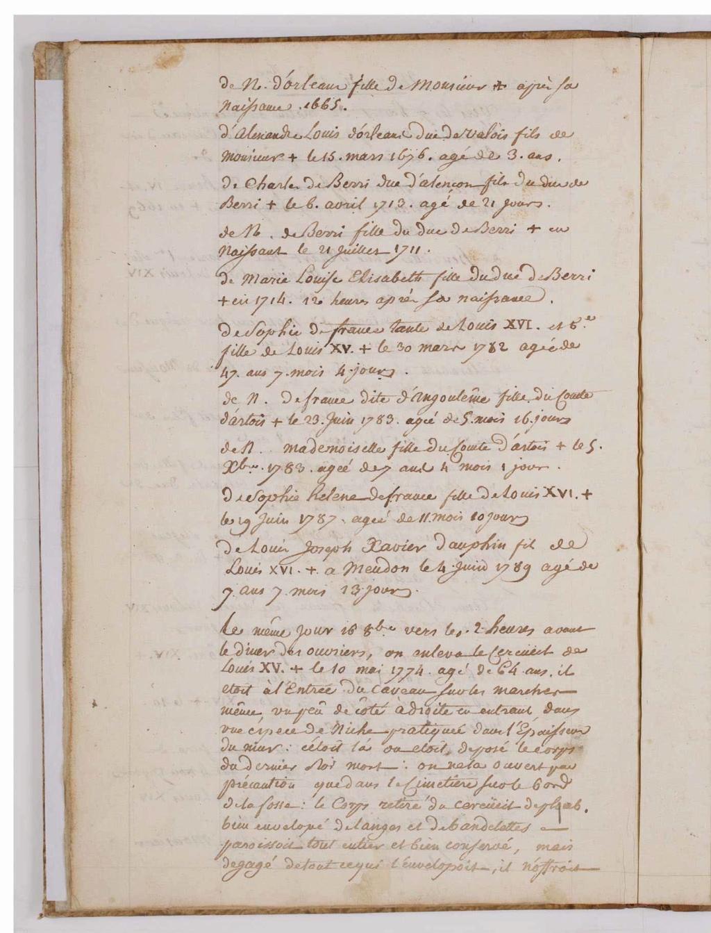 L'exhumation des rois et reines de France, profanation des tombes de la basilique Saint-Denis (1793) - Page 2 0000610