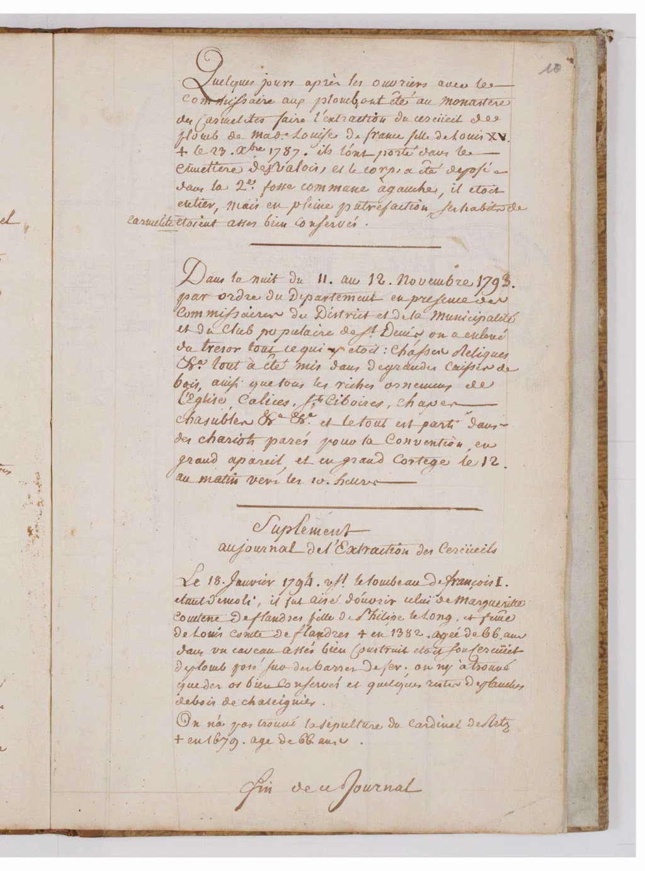 L'exhumation des rois et reines de France, profanation des tombes de la basilique Saint-Denis (1793) - Page 2 0001910
