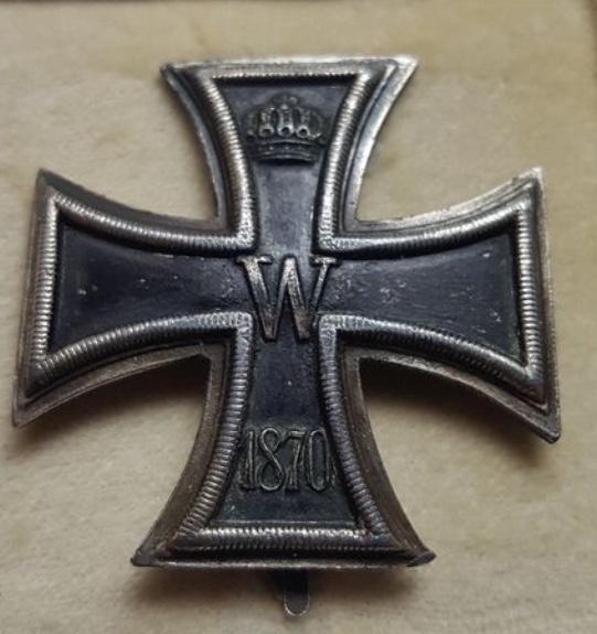 Croix de fer EK1 de 1870 53746c10