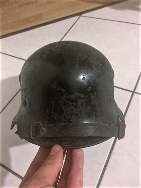 Authentification et estimation Casque allemand WW2 Image255
