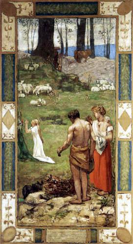 La oración. Pierre Puvis de Chavannes 0117-010