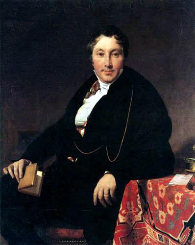 Jaques-Louis Leblanc. Jean-Auguste-Dominique Ingres 0123-010