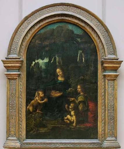 La Vírgen de las rocas. Leonardo da Vinci 111110