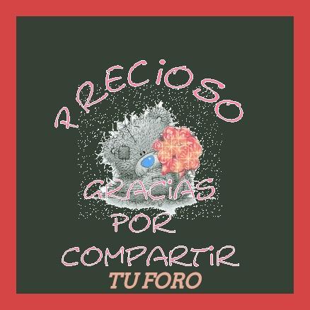 GRACIAS POR COMPARTIR, BELLAS FIRMAS 14410
