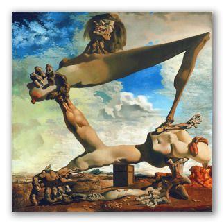 Construcción blanda con judías hervidas -Dalí 1c2ae410