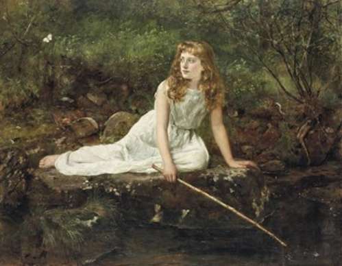 The Butterfly. John Collier 2a2aaf11