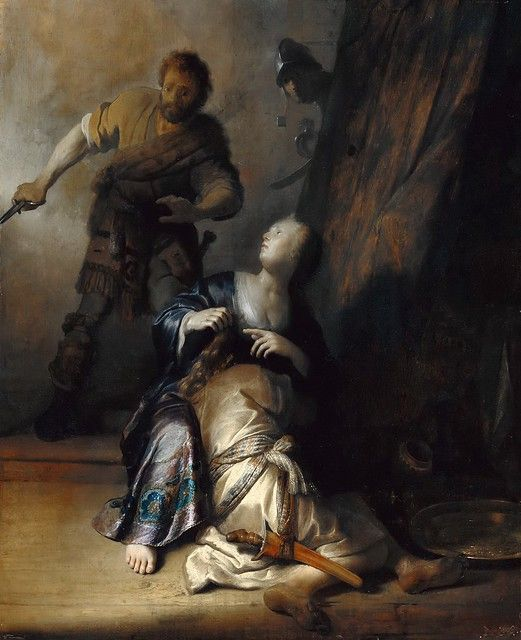 Sansón y Dalila. Rembrandt 4b4e2310