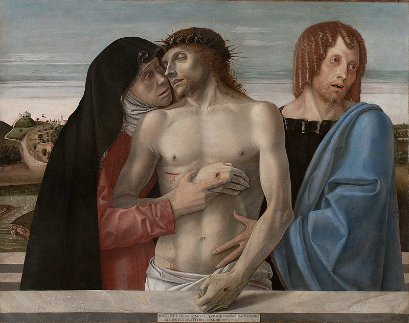 PIETA. Giovanni Bellini 800px-12