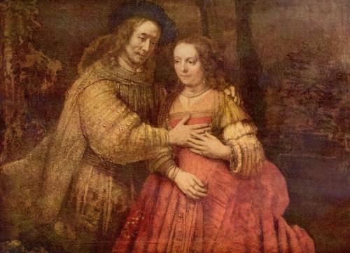 La novia judía. Rembrandt 800px-13