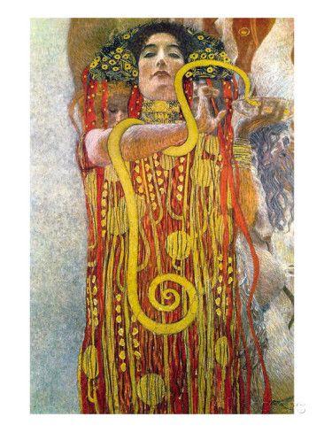HYGIEIA, Gustav Klimt A5c9c410