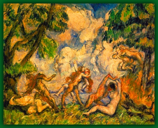 LUCHA DEL AMOR.Paul Cézanne Battle10