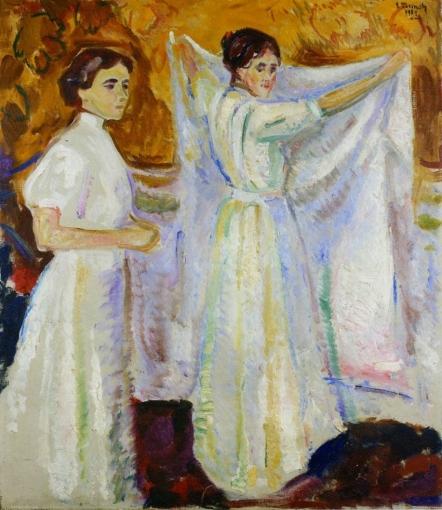 Dos enfermeras.   Edvard Munch C3adnd11