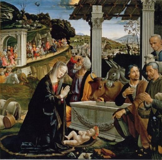 Altar de la Capilla Sasseti. Domenico Ghirlandaio Capill12