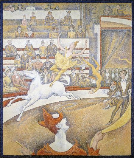 El circo. Georges Seurat Circo10