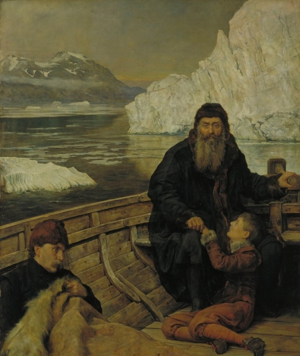The Last Voyage of Henry Hudson. John Collier Collie10
