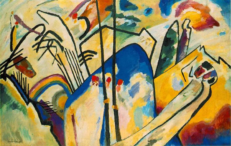 Composición IV. Wassily Kandinsky  Compos10