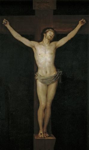 Cristo crucificado. Francisco Goya Cristo11
