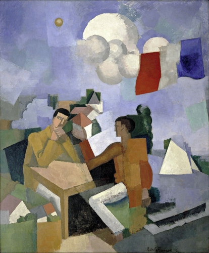 CONQUISTA DEL AIRE. Roger de La Fresnaye Cubism10