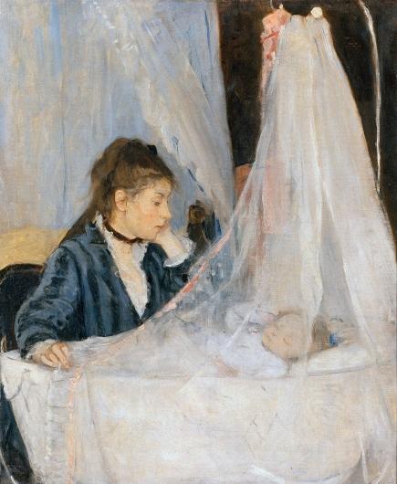 La cuna. Berthe Morisot Cuna10