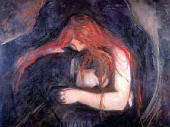 """Amor y dolor""  Edvard Munch. Modernismo D58ba910"