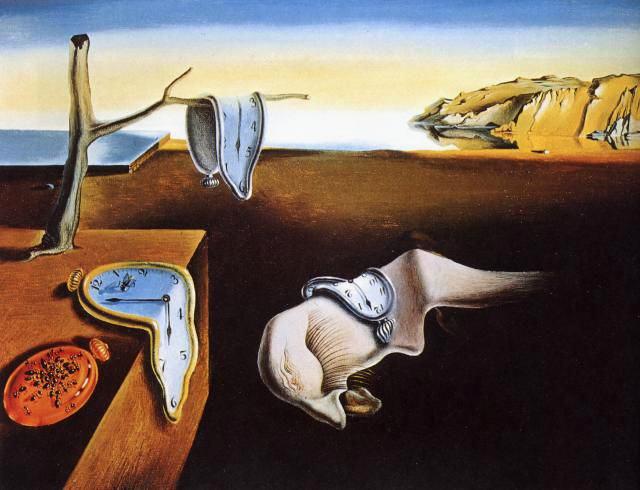 RELOJES BLANDOS. Salvador Dalí Dali110