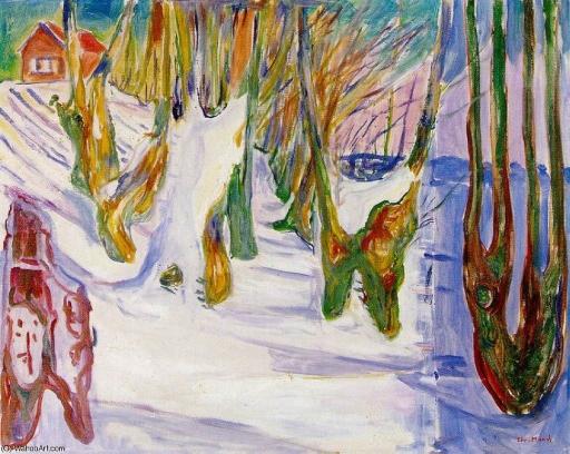 ÁRBOLES VIEJOS. Edvard Munch Edvard12